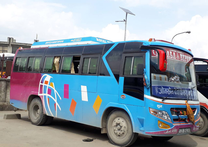 Local Bus to Muktinath
