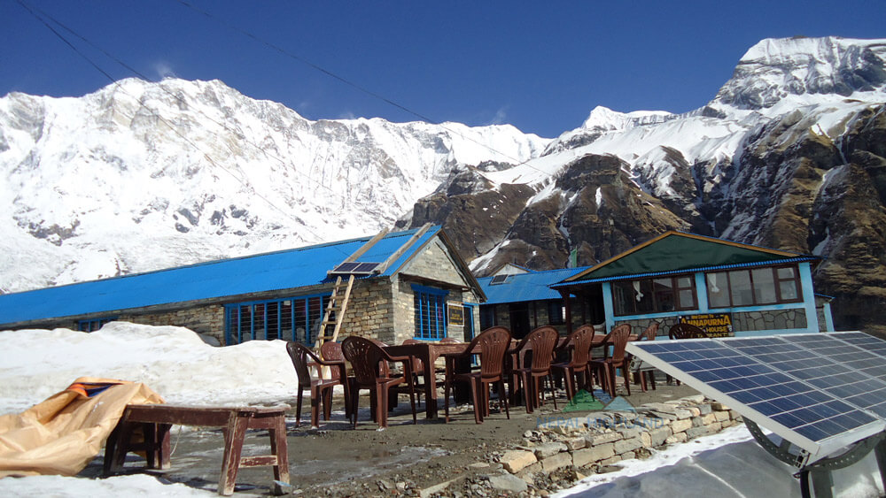 Accommodation in Annapurna base camp