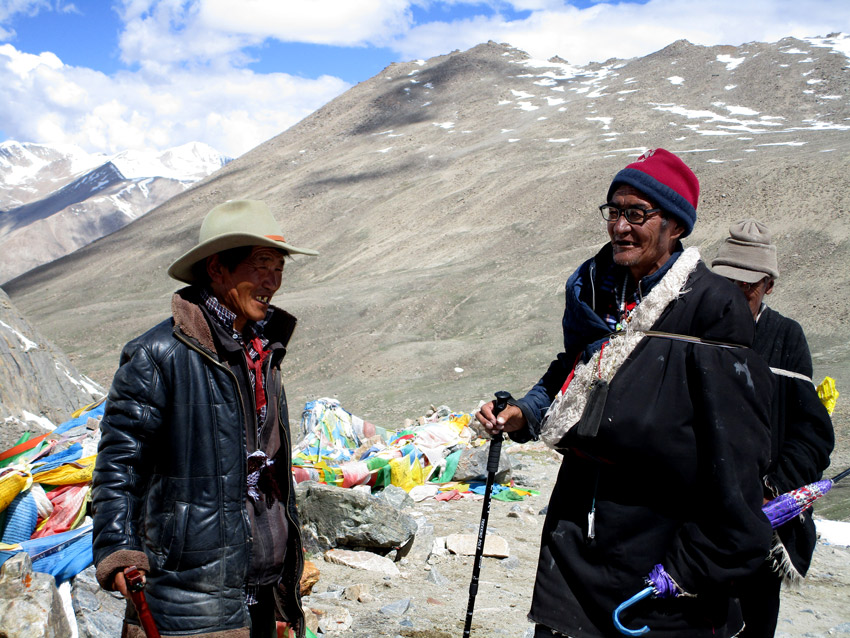 Tibetan Peoples in Kailash Parikrama