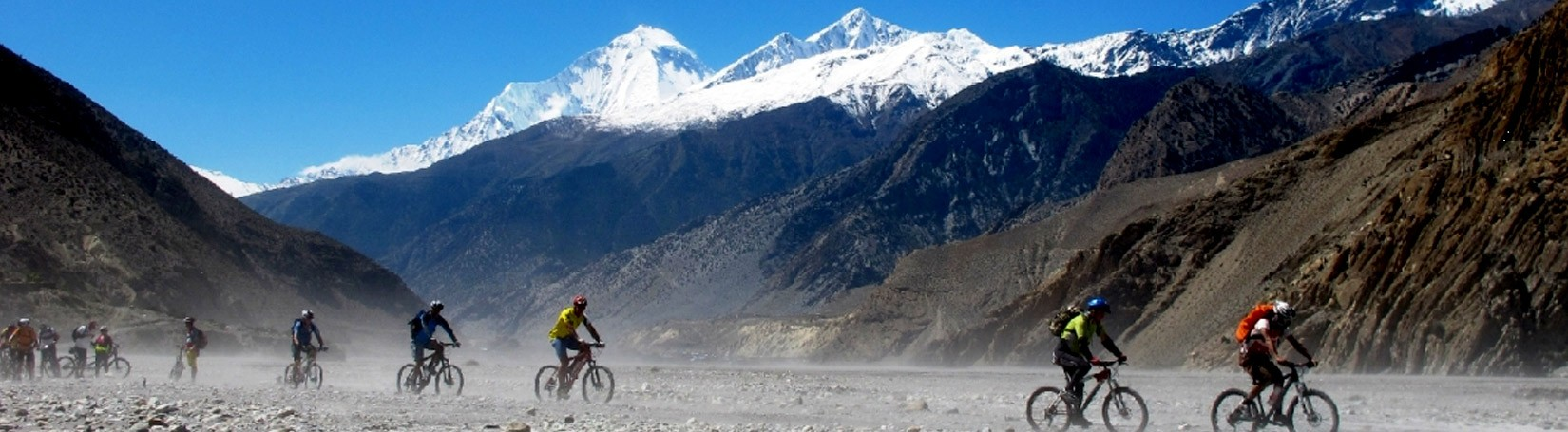 Cycing Annapurna Lower Mustang