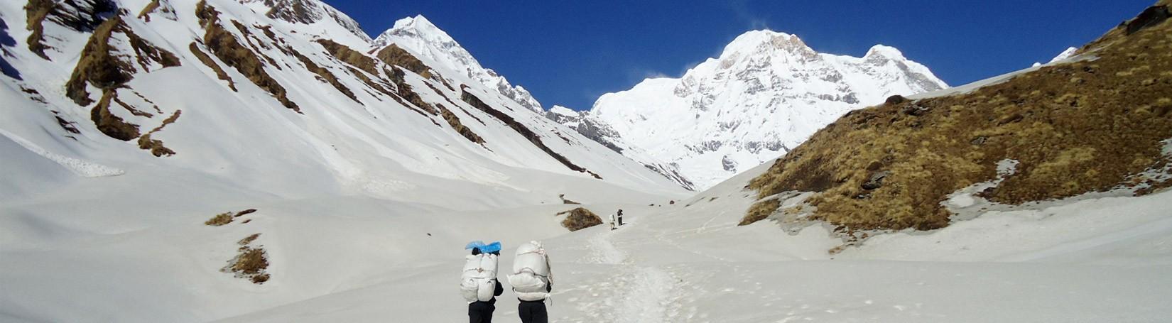 Annapurna Base Camp in Winter