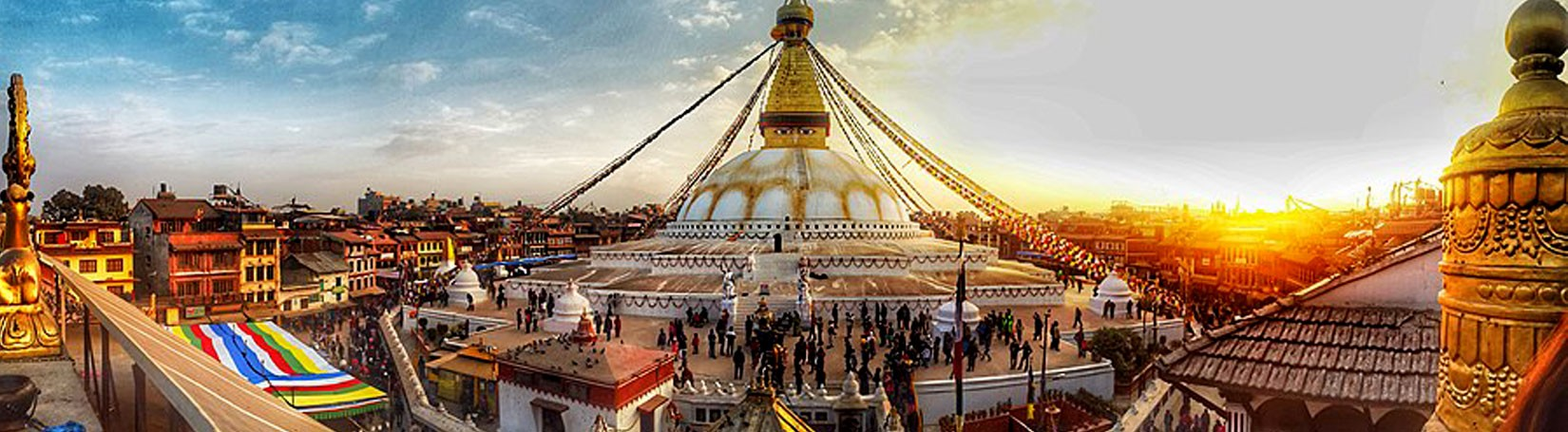 Bouddhanath Stupa in Kathmandu
