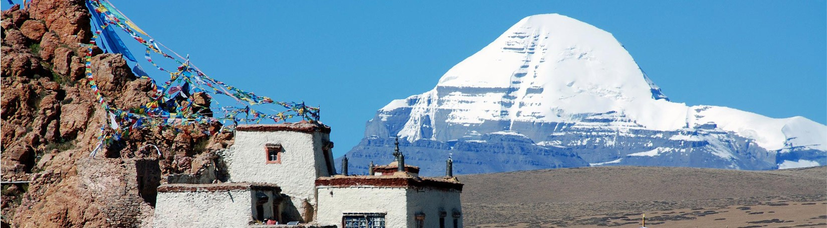 Chui Gubma and Mount Kailash in Western Tibet