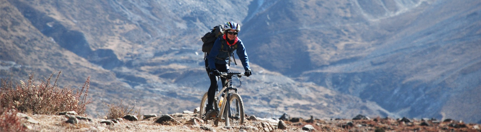 Cycling in Annapurna