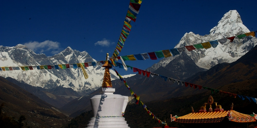 Everest View from Tengboche