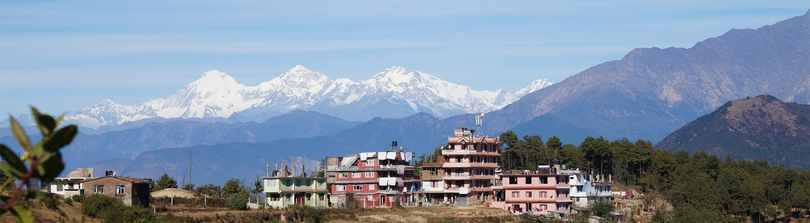 View from Chisapani - Hiking Around Kathmandu Valley