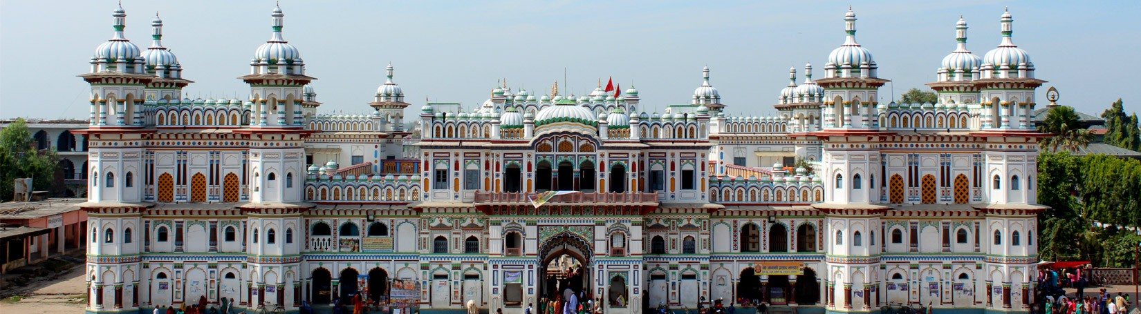 Janaki Temple in Janakpur
