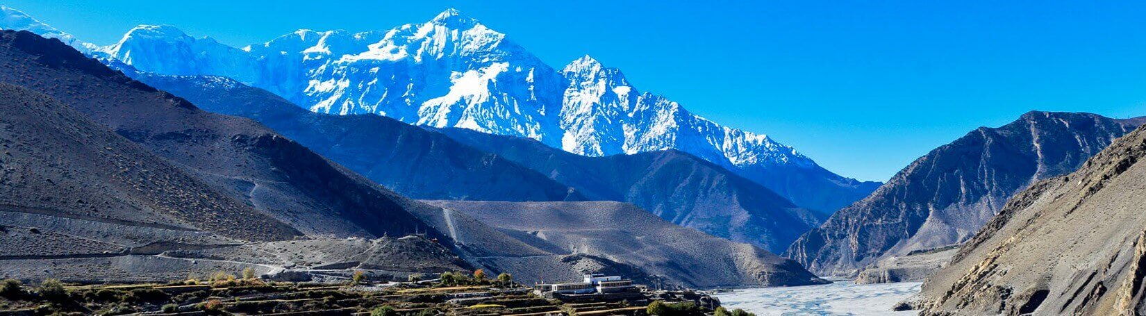 Jomsom Muktinath valley with Nirgiri View