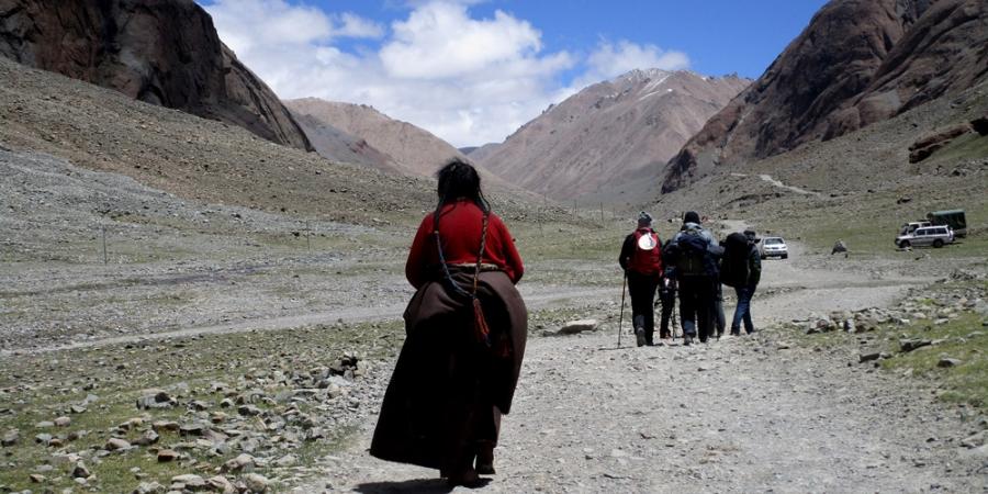 Kailash Kora starting point, Tarboche valley