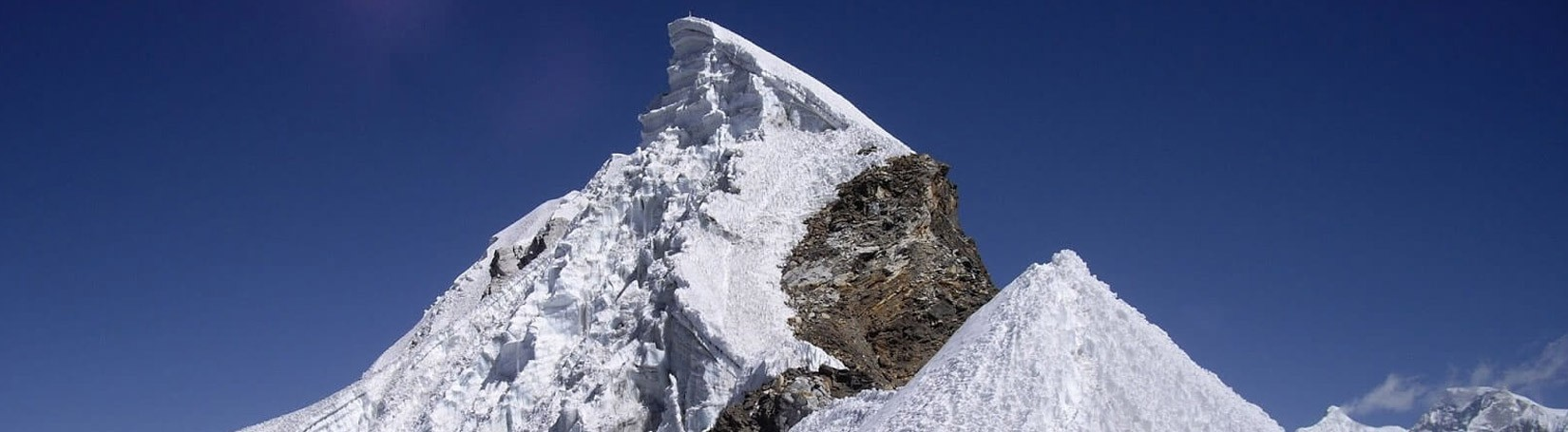Summit of Lobuche Peak