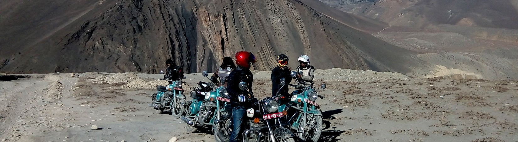 Our Motor biking path of Jomsom Muktinath