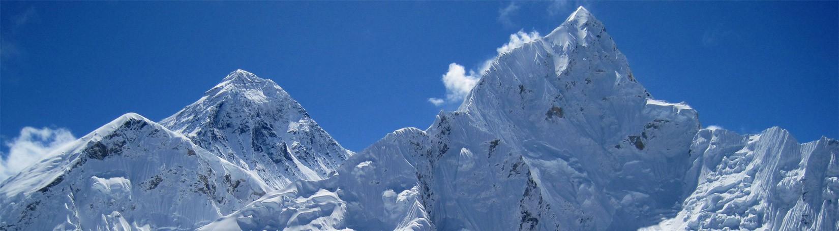 Mount Everest View in Winter season