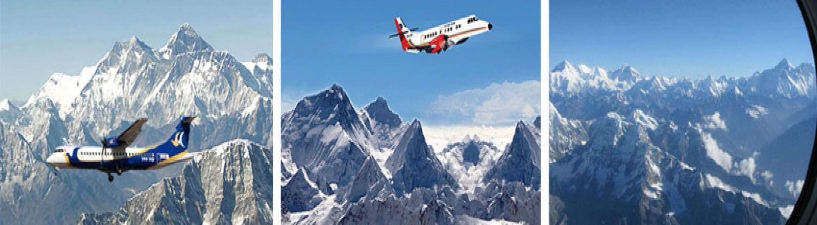 1 Hour Mountain flight / Everest Flight