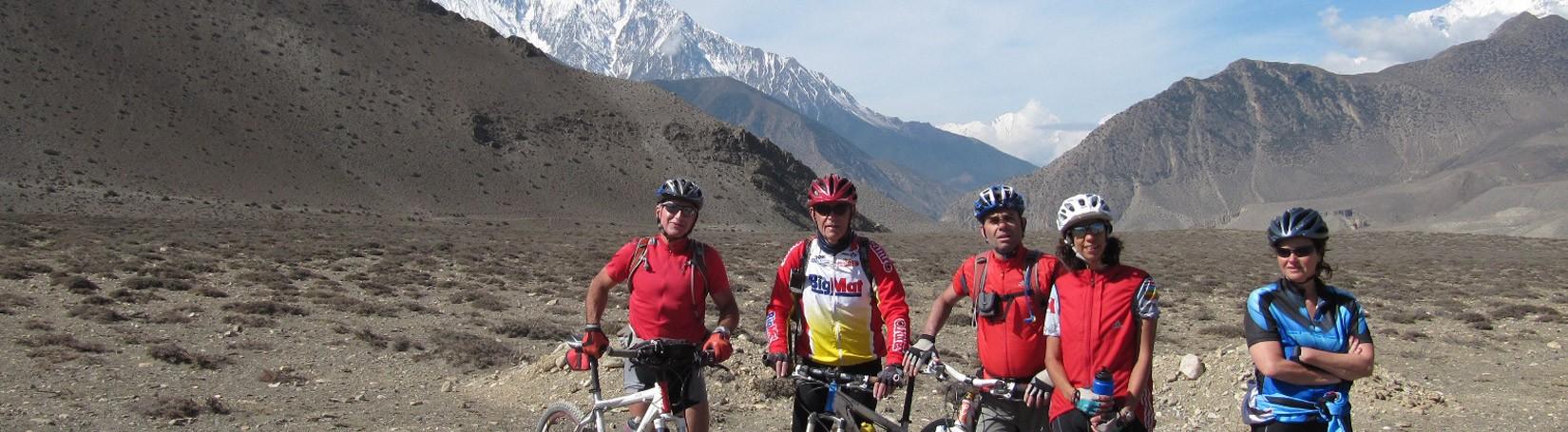 Mountain Biking in Upper Mustang