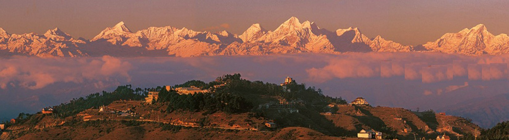 Nagarkot at the time of Sunrise