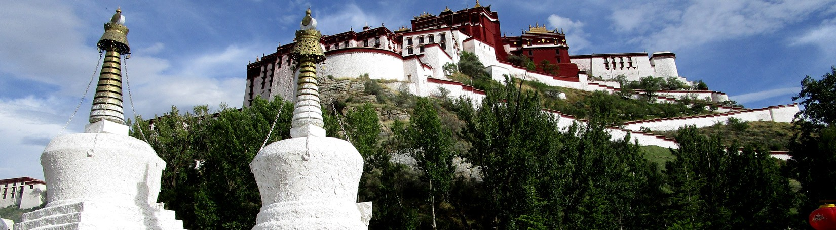 View of Potala Palace in Lhasa