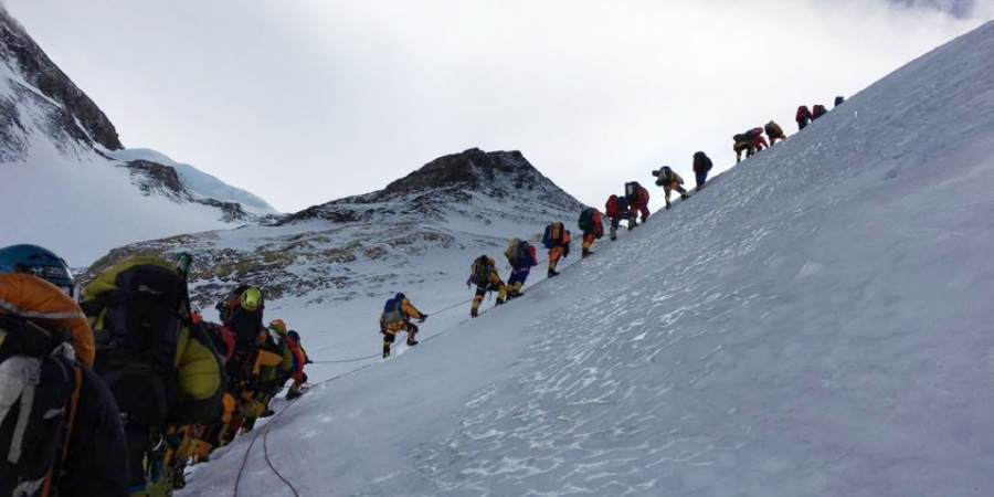 Record of Mount Everest Climbing in 2019