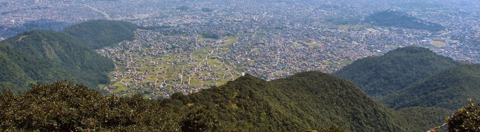 View from Top of Jamacho Shivapuri National Park