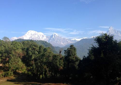 Hiking Around Pokhara