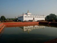 Lumbini the birth place of Buddha