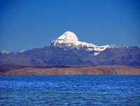 Mansarovar Lake and Mt Kailash