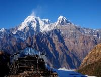 Annapurna South and Machhapuchre View
