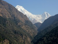 Annapurna south and Himchuli