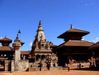 Bhaktapur Durbar Squire in Nepal