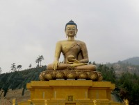 buddha Dordenma statue in Thimpu