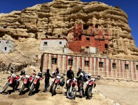 Ruins and Caves in Upper Mustang