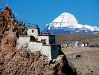 Kailash view from Chui Gumba