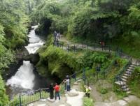 David falls in Pohara