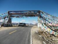 Decorate high pass in Tibet