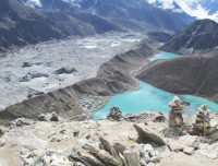 Gokyo Valley from renjo La