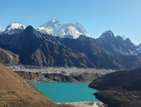 Gokyo Lake and valley