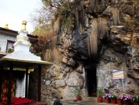 Guru Rinpoche Medited cave in Pharping