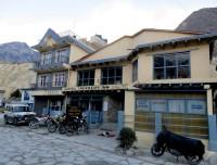 Local tea houses in Jomsom Muktinath