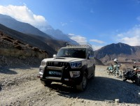 Jeep use in Muktinath Tour