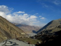 Kagbeni and Kali Gandaki River Valley