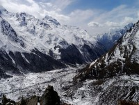 Langtang Valley from Tserko Ri