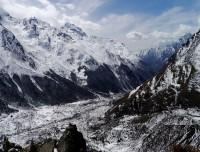 Langtang valley from Tserko Ri