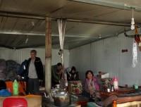 Local tent to buy Dinner in Derapuk