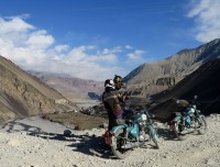 Scenic place to Motorbike Jomsom Muktinath