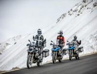 Biking Tour in Tibet during winter