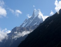 Fishtail view from Deurali