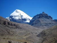 Mount Kailash south face with Nandi view