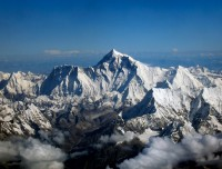 Himalayas during mountain flight