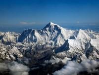 Scenic Himalayas in Mountain flight