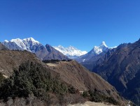from Pangboche
