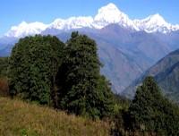 View from Nagarjun hill